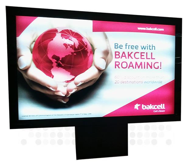 7 m2 ve 8 m2 megalight üretimleri ile 3 görsel reklam alanı yaratabilirsiniz.
