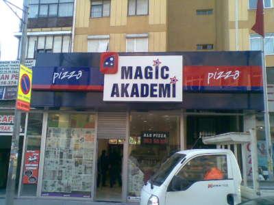 Işıksız Tabela-Magic Akademi