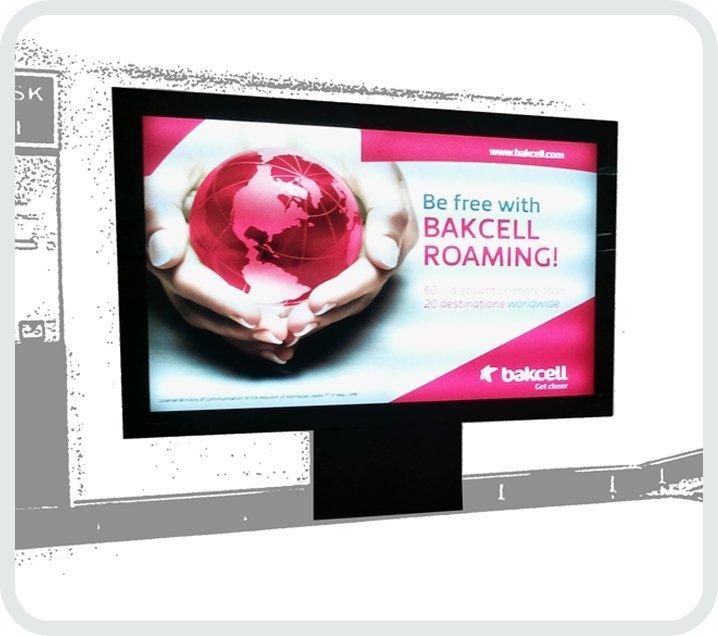 Hareketli Reklam sistemleri ile megalight, raket pano (CLP), trivision gibi bir çok ilgi çekici ürüne kavuşabilirsiniz.