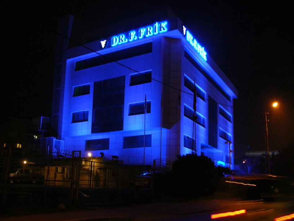 Dr. Frik İlaç Pleksiglass Kutu Harf Tabela – Şubat 2011