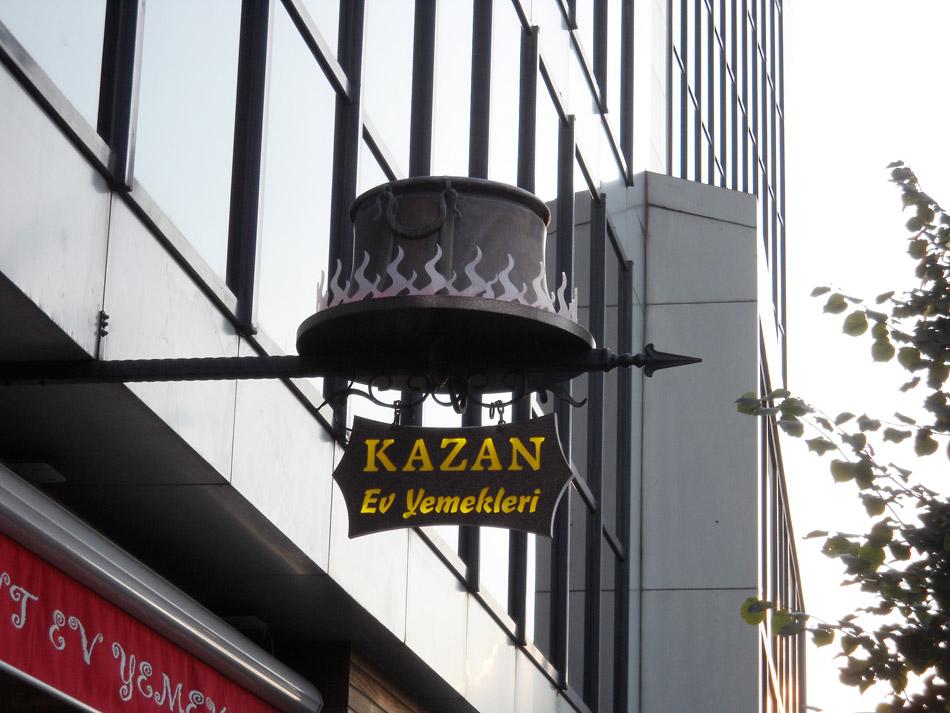 Kazan Restaurant Işıklı Tabela – Mart 2009