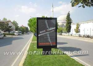Boran Reklam Raket Pano