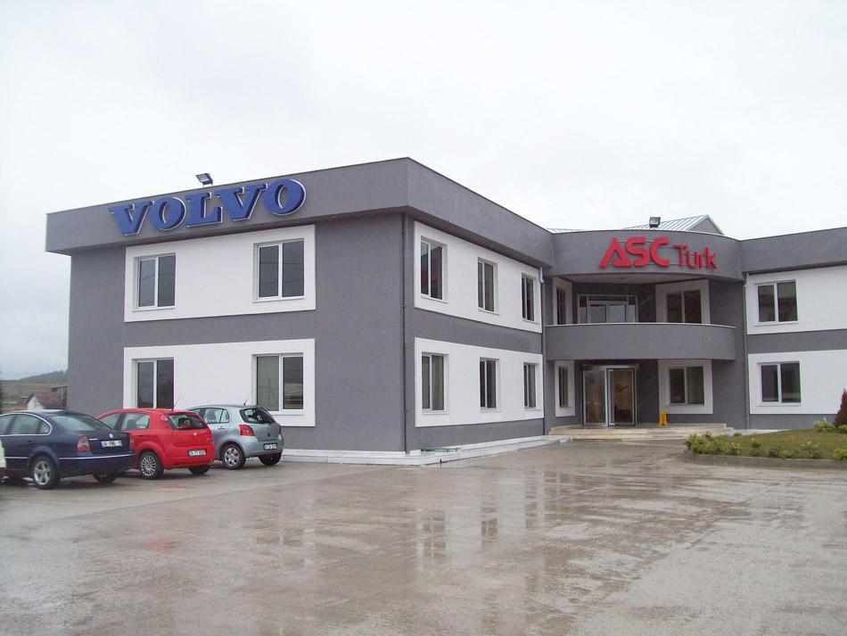 Volvo ASC Türk Alüminyum Kutu Harf Tabela – Şubat 2012