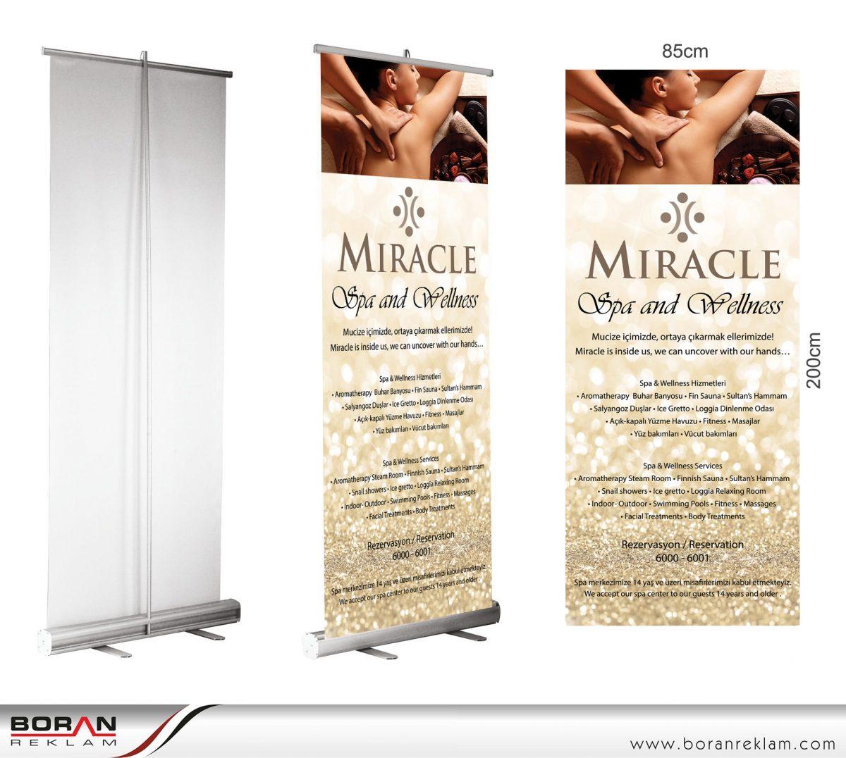 Roll Up Banner Fiyatlarında kaliteli çözümler ile Boran Reklam