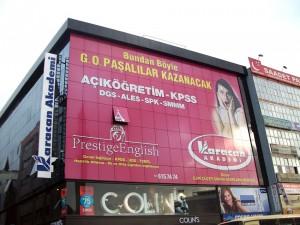 Karacan Akademi Cephe Giydirme